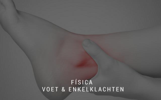 fisica fysiotherapie voet en enkel klachten